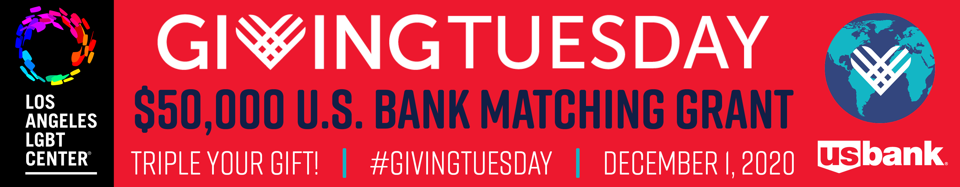Giving Tuesday - Triple Your Gift